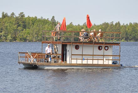 Husbåten Kajutan tillverkas i Braås